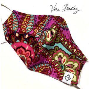 NWT Vera Bradley Mask w/Logo